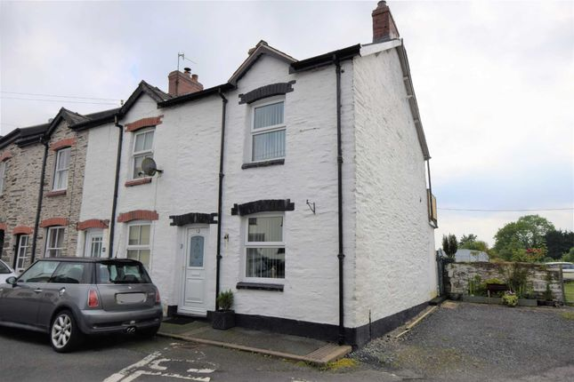 Thumbnail End terrace house for sale in Lloyds Terrace, Machynlleth, Powys