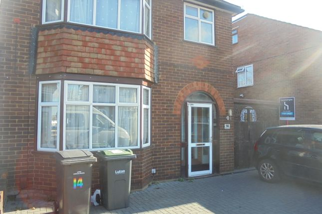 Thumbnail Semi Detached House To Rent In Granby Road Luton