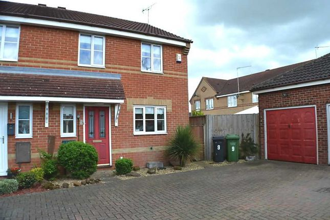 Thumbnail Semi-detached house for sale in Winston Churchill Drive, King's Lynn