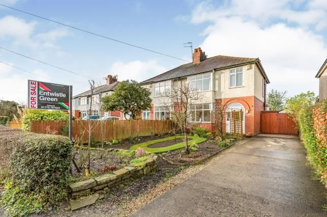 Thumbnail Semi-detached house for sale in Woodplumpton Lane, Broughton, Preston, Lancashire