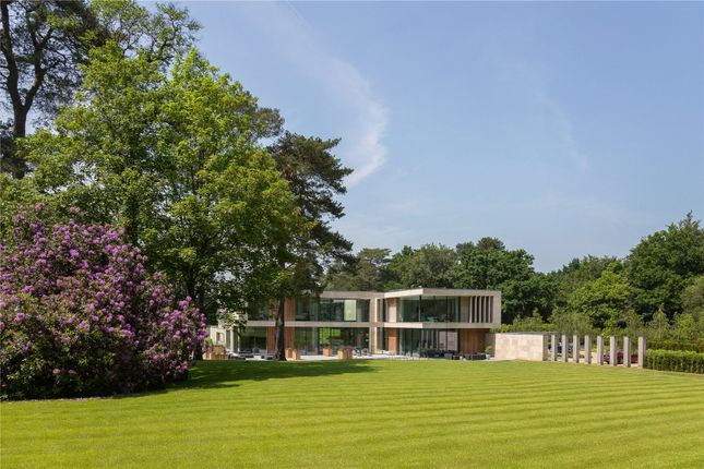 Thumbnail Detached house for sale in Beechwood Road, Wentworth, Virginia Water, Surrey
