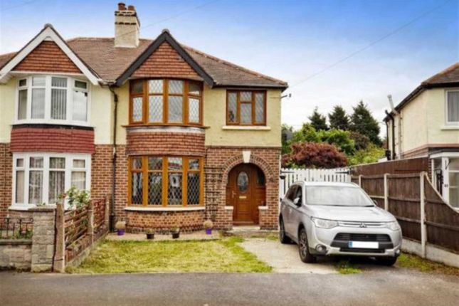 Thumbnail Semi-detached house to rent in Grasmere Crescent, Sinfin, Derby