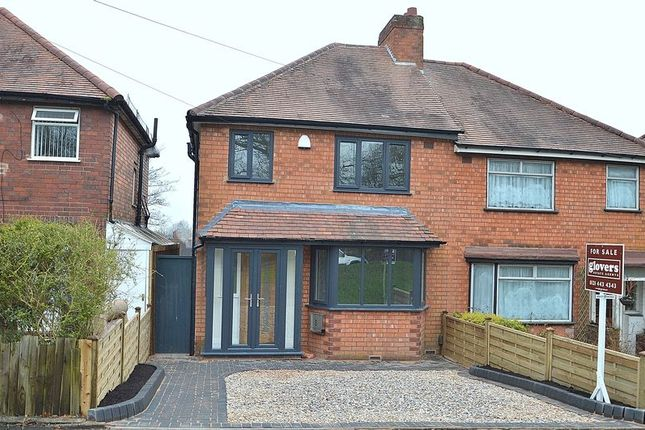 Thumbnail Semi-detached house for sale in Monyhull Hall Road, Kings Norton, Birmingham