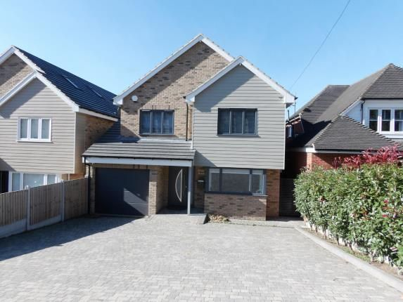 Thumbnail Detached house for sale in Crays Hill, Billericay, Essex