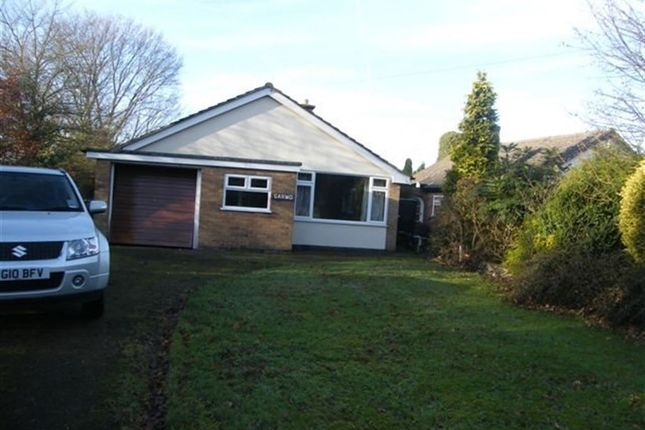 Thumbnail Bungalow to rent in Ratby Lane, Markfield