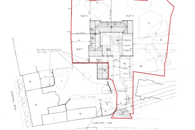 Thumbnail Land for sale in Candlers Lane, Redenhall, Harleston