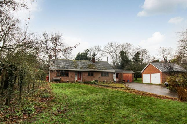 Thumbnail Detached bungalow for sale in Weston Road, Shrewsbury