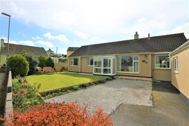 Thumbnail Detached bungalow for sale in Rosevale Crescent, Camborne