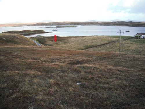 Thumbnail Land for sale in House Site, 4 Sidinish, Locheport, South Uist, Western Isles