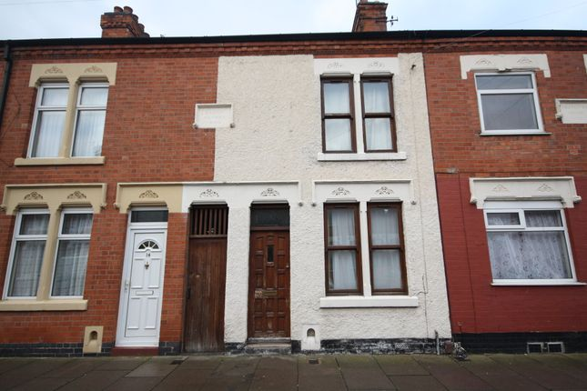 Thumbnail Terraced house to rent in Saxon Street, West End, Leicester