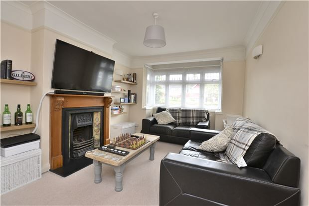 Thumbnail End terrace house for sale in Whytecliffe Road North, Purley, Surrey