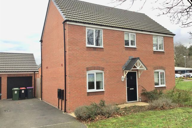 Thumbnail Detached house to rent in Lawton Farm Way, Leegomery, Telford