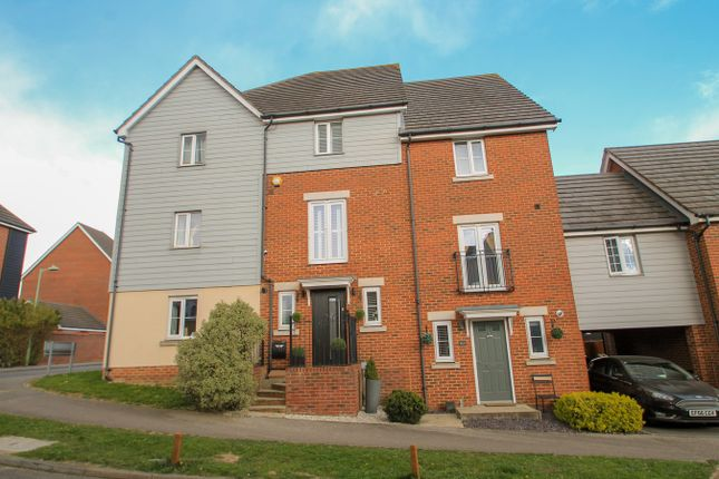 Thumbnail Town house for sale in Phoenix Way, Stowmarket