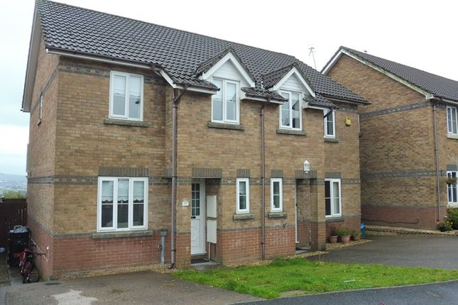 Thumbnail Semi-detached house for sale in Beacon Heights, Merthyr Tydfil