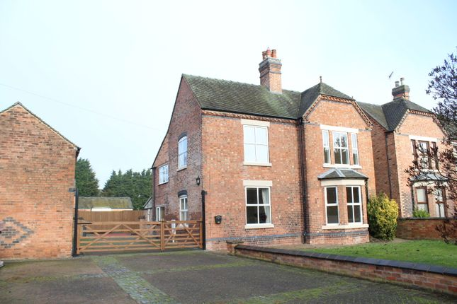 Thumbnail Detached house to rent in Main Street, Burton-On-Trent