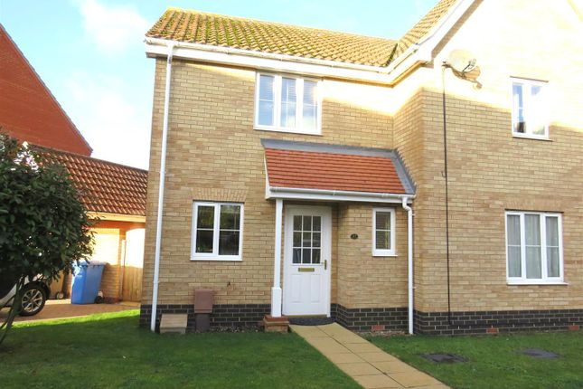 Thumbnail Property to rent in Old School Close, Norwich