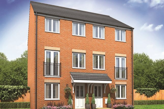 "Thumbnail End terrace house for sale in ""The Greyfriars"" at Wilbury Close, Coate, Swindon"