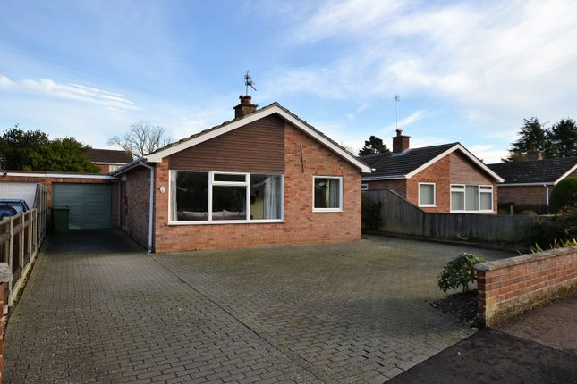 Thumbnail Detached bungalow for sale in Lawrence Close, Fakenham