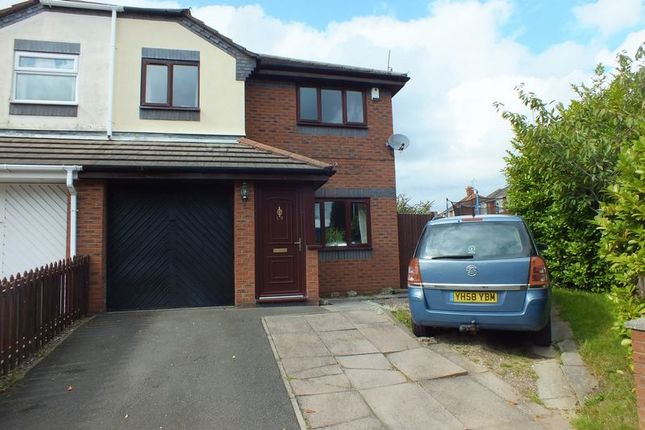 Thumbnail Semi-detached house for sale in Hollywall Lane, Sandyford, Stoke-On-Trent
