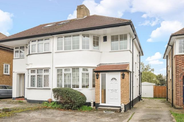 Thumbnail Semi-detached house to rent in Felbridge Avenue, Stanmore
