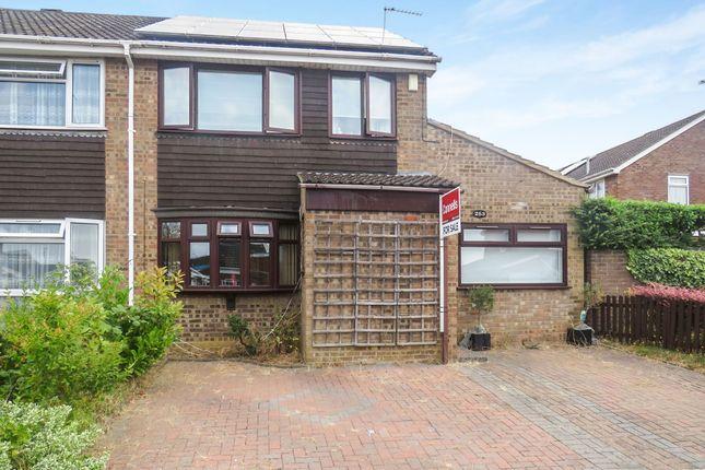 Thumbnail Semi-detached house for sale in Obelisk Rise, Kingsthorpe, Northampton