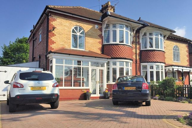 3 bed semi-detached house for sale in Hillcrest Road, Offerton, Stockport, Cheshire
