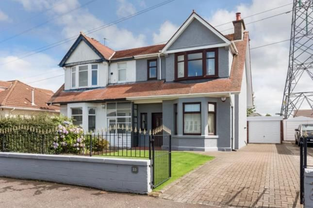 3 bed semi-detached house for sale in Duchray Drive, Paisley, Renfrewshire