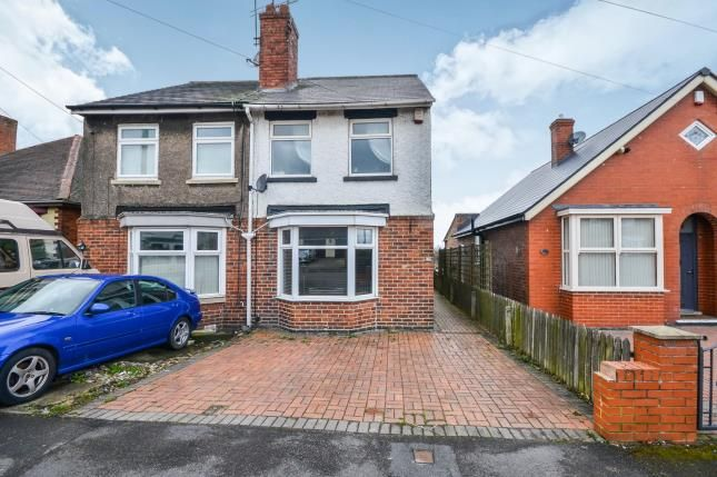 Thumbnail Semi-detached house for sale in Leamoor Avenue, Somercotes, Alfreton, Derbyshire