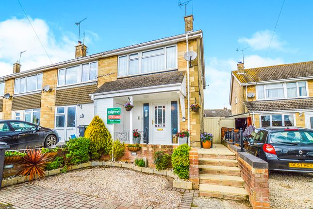 Thumbnail End terrace house for sale in Aldsworth Close, Fairford