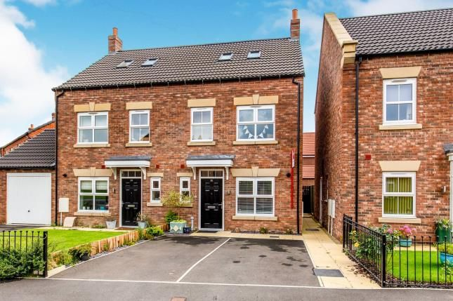 Thumbnail Semi-detached house for sale in Foundry Way, Leeming Bar, Northallerton