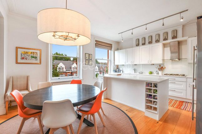 Thumbnail Flat to rent in Broadhurst Gardens, South Hampstead, London