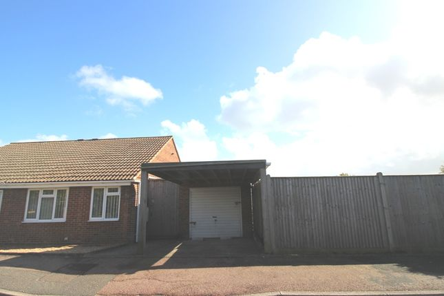 Thumbnail Semi-detached bungalow for sale in Fern Close, Langney, Eastbourne