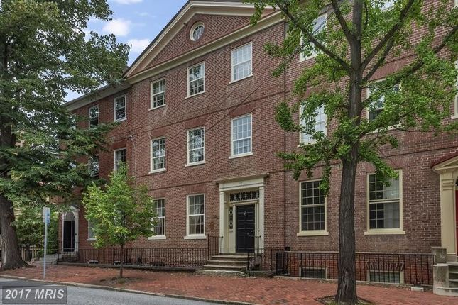 Thumbnail Town house for sale in 112 Duke Of Gloucester Street, Annapolis, MD, 21401