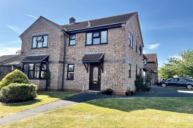 Thumbnail Detached house for sale in Silesbourne Close, Castle Bromwich, Birmingham