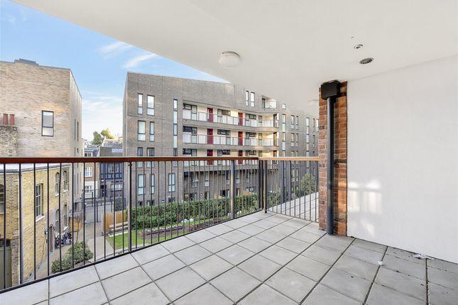 Balcony of Austin Street, London E2