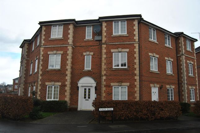 Thumbnail Flat for sale in Aiken Road, Swindon