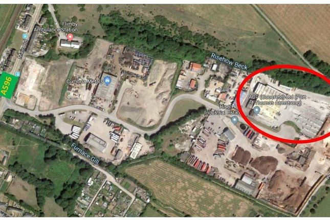 Thumbnail Industrial for sale in Risehowe Industrial Estate, Plot G, Flimby, Maryport