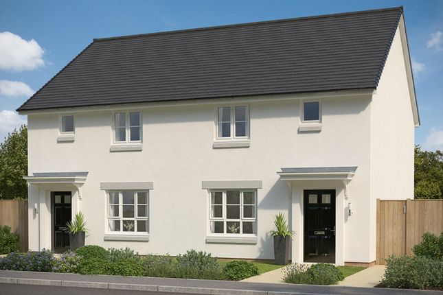"""Thumbnail Semi-detached house for sale in """"Wemyss"""" at Mey Avenue, Inverness"""
