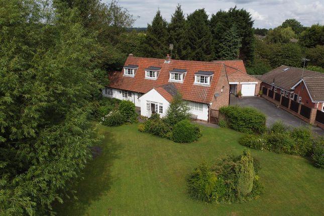 Thumbnail Detached bungalow for sale in Papplewick Lane, Hucknall, Nottinghamshire