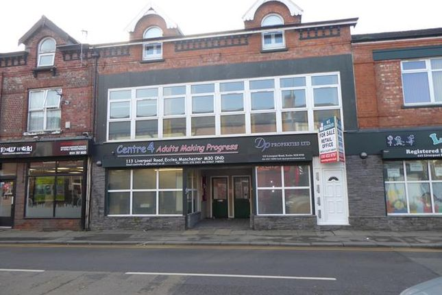 Thumbnail Retail premises for sale in 113-115 Liverpool Road, Eccles, Manchester, Greater Manchester
