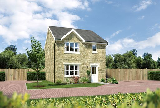 "Thumbnail Detached house for sale in ""Castlevale"" at Hunter Street, Auchterarder"