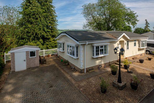 Thumbnail Mobile/park home for sale in Norton Manor Park, Norton, Presteigne