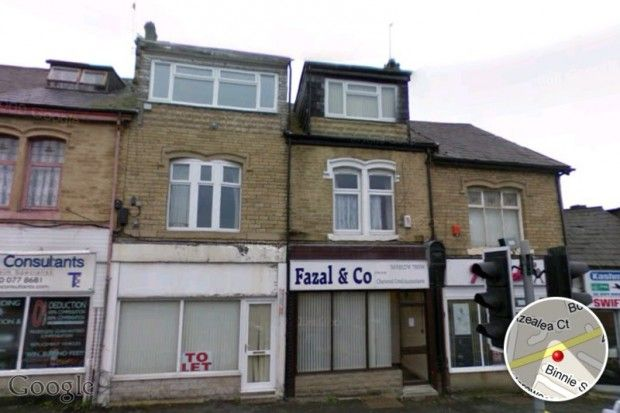 Thumbnail Flat to rent in Barkerend Road, Barkerend