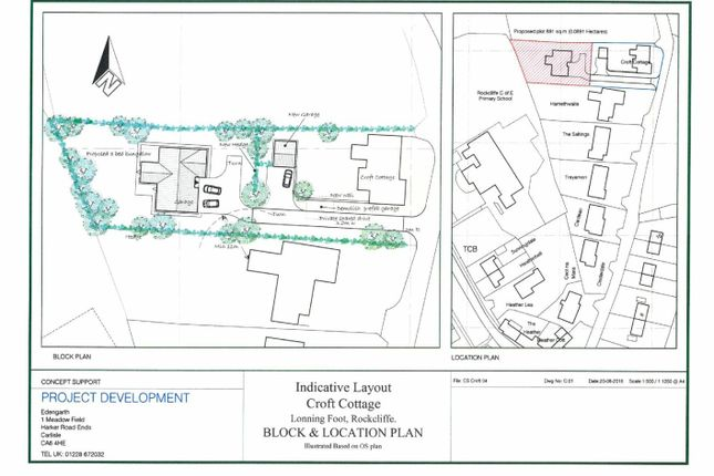 Land for sale in Building Plot, Rockcliffe, Carlisle, Cumbria