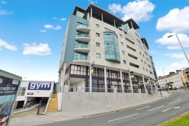 Thumbnail Flat for sale in Ocean Crescent, The Hoe, Plymouth