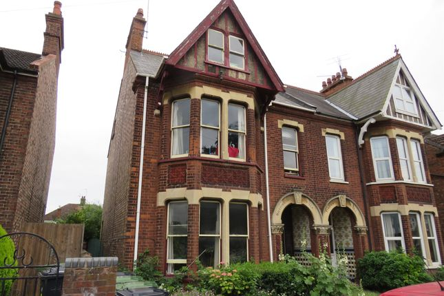 Thumbnail Semi-detached house for sale in Swiss Terrace, Tennyson Avenue, King's Lynn