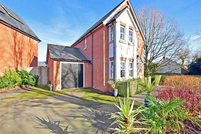 Thumbnail Detached house for sale in Furley Close, Kennington, Ashford, Kent