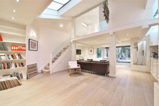 Thumbnail Semi-detached house to rent in Parkhill Road, Belsize Park, London