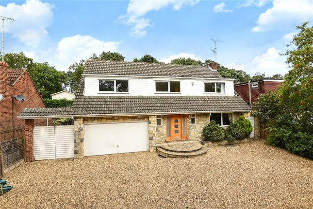 Thumbnail Detached house for sale in Yeovil Road, College Town, Sandhurst, Berkshire