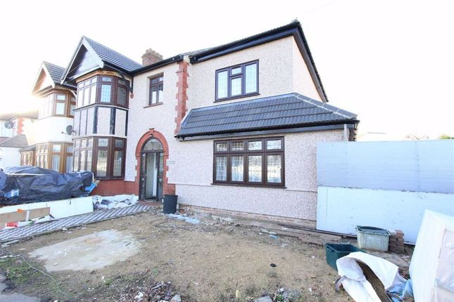 Thumbnail End terrace house for sale in South Park Drive, Ilford, Essex